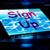 agora · assinar · imediato · rápido · comunicar - foto stock © stuartmiles