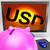 dólar · recessão · catástrofe · depressão - foto stock © stuartmiles