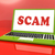 scam laptop shows scheming hoax deceit and fraud online stock photo © stuartmiles