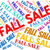 fall sale means words autumnal and retail stock photo © stuartmiles