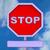 знак · остановки · копия · пространства · сообщение · пространстве · красный · безопасности - Сток-фото © stuartmiles