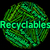 recyclables word shows eco friendly and environmentally stock photo © stuartmiles