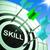 skill on dartboard showing expertise stock photo © stuartmiles