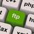 Ftp Key Shows File Transfer Protocol stock photo © stuartmiles