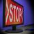 elutasított · monitor · mutat · visszautasítás · hanyatlás - stock fotó © stuartmiles