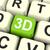 3D · imprimante · isolé · blanche · rendu · illustration - photo stock © stuartmiles