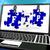 FTP Puzzle On Laptop Shows Files Transmission stock photo © stuartmiles