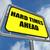 nehézségek · előre · felirat · égbolt · autópálya · felhő - stock fotó © stuartmiles