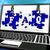 faq puzzle on laptop shows website assistance stock photo © stuartmiles
