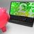 font · szimbólumok · laptop · brit · befektetések · kereset - stock fotó © stuartmiles