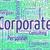 corporatie · woord · bedrijven · corporate · woorden · uitvoerende - stockfoto © stuartmiles