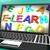сообщение · экране · компьютера · онлайн · образование - Сток-фото © stuartmiles