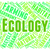 ecology word means earth day and environment stock photo © stuartmiles