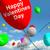 boldog · valentin · nap · léggömbök · égbolt · mutat · szeretet - stock fotó © stuartmiles