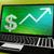 nyereség · laptop · jövedelmező · lukratív · kereset · internet - stock fotó © stuartmiles
