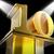 golden ten on pedestal means cinema awards or movie excellence stock photo © stuartmiles