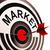 Ziel · Markt · Verbraucher · Bedeutung · lenken - stock foto © stuartmiles