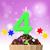 otuz · mum · renkli · parti · dekore · edilmiş - stok fotoğraf © stuartmiles