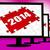 twee · duizend · vijftien · monitor · jaar · 2015 - stockfoto © stuartmiles