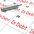 in debt calendar shows money owing and due stock photo © stuartmiles
