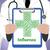 koorts · ziek · gezondheid · kwaal · arme · hart - stockfoto © stuartmiles