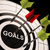 goals on dartboard shows aspired objectives stock photo © stuartmiles