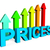 prices increase represents financial report and diagram stock photo © stuartmiles