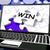 győzelem · puzzle · laptop · győzelem · első · díj - stock fotó © stuartmiles