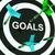 goals on dartboard shows aspirations stock photo © stuartmiles