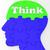 düşünmek · beyin · profil · fikirler - stok fotoğraf © stuartmiles