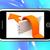 pijl · springen · muur · smartphone · tonen - stockfoto © stuartmiles