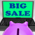 big sale laptop means online specials and clearance stock photo © stuartmiles