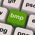 Bmp Key Shows Bitmap Format For Images stock photo © stuartmiles