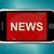 nouvelles · titre · téléphone · portable · ligne · informations · médias - photo stock © stuartmiles