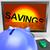 perder · poupança · 3D · gerado · quadro · inflação - foto stock © stuartmiles