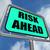 előre · kockázat · figyelmeztető · jel · citromsárga · veszély · veszély - stock fotó © stuartmiles
