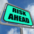 риск · впереди · знак · бизнеса · копия · пространства - Сток-фото © stuartmiles