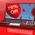 léggömbök · számítógép · mutat · vásár · árengedmény · húsz - stock fotó © stuartmiles