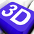 3d key shows three dimensional or dimensions stock photo © stuartmiles