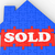 Sold House Shows Sale Of Real Estate stock photo © stuartmiles