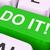 agir · chave · proativa · computador · botão · on-line - foto stock © stuartmiles
