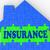 maison · assurance · maison · protégé · assuré - photo stock © stuartmiles