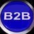 b2b · ręce · litery · działalności · strony · czarny - zdjęcia stock © stuartmiles