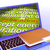 education word cloud laptop means teaching schooling or training stock photo © stuartmiles