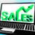 Sales On Notebook Showing Marketing Profits stock photo © stuartmiles