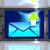 küldés · email · ötlet · kéz · internet · háló - stock fotó © stuartmiles
