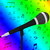 microphone closeup with musical notes shows songs or hits stock photo © stuartmiles