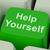 melhoria · ajudar · você · mesmo · fundo · educação - foto stock © stuartmiles