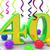 aantal · veertig · witte · 3d · illustration · verjaardag · illustratie - stockfoto © stuartmiles
