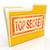 top secret file shows private folder or files stock photo © stuartmiles